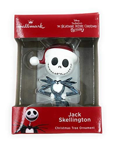 Hallmark Jack Skellington Christmas Tree Ornament from Disney Tim Burtons The Nightmare Before Christmas 25th Anniversary -
