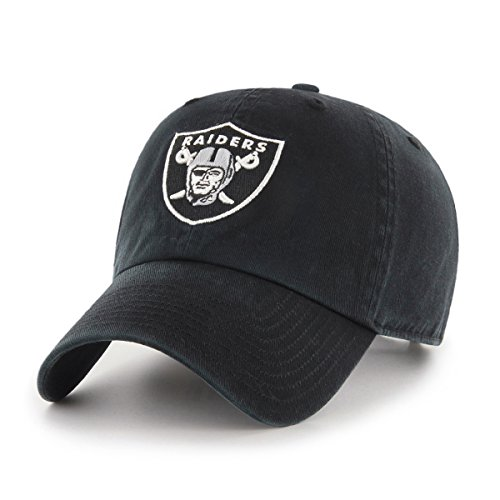 NFL Oakland Raiders Women's OTS Challenger Adjustable Hat, Black, Women's