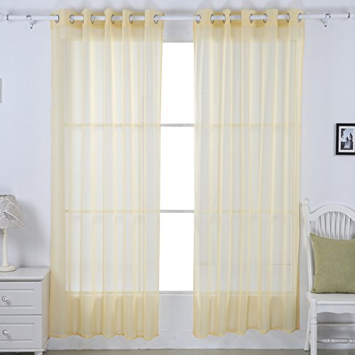 Deconovo Grommet Curtains Panels Window