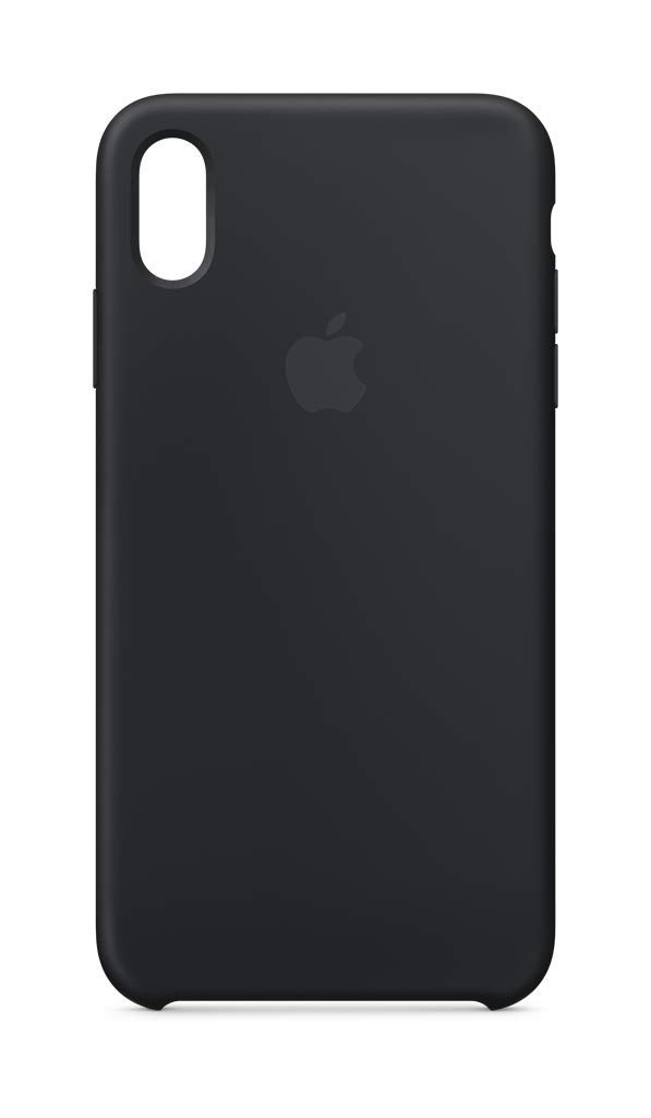 Apple Silicone Case (for iPhone Xs Max) - Black by Apple