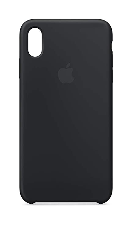 Apple Silicone Case (For I Phone Xs Max)   Black by Apple