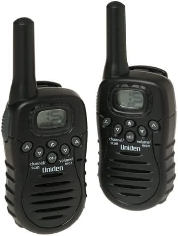 Uniden TR620 2-Mile 22-Channel FRS GMRS Two-Way Radio Pair