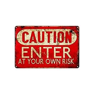WSMsign - Cartel de Advertencia de Riesgo para el Taller ...