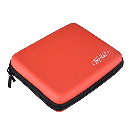 Mudder Protective Travel Carrying Case Cover for Nintendo 2DS, Red