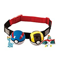 Pokemon Clip N' Carry Poke Ball Belt, Colors May Vary