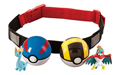 Pokémon Clip 'N' Carry Poké Ball Belt, Styles May Vary (Discontinued by manufacturer) (Holo 2 Costumes)