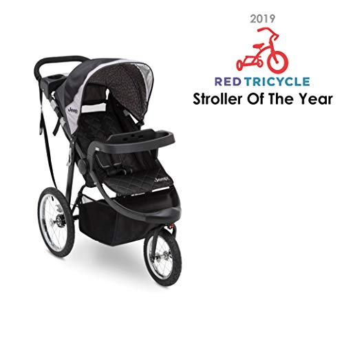 4106Q4lKh7L - Jeep Deluxe Patriot Open Trails Jogger By Delta Children, Charcoal Tracks