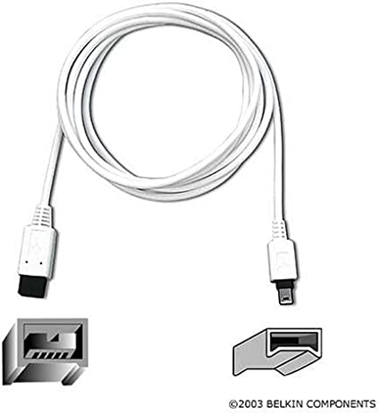 Belkin IEEE 1394b FireWire Cable 1.8m 9-pin//6-pin