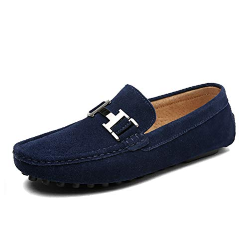 E da Autunno Casual Vera Slip Scarpe da Mens New Uomo Uomo Primavera Mocassini Black On Shoes in Scarpe Mocassini Successg Uomo Pelle pHz8qAxt