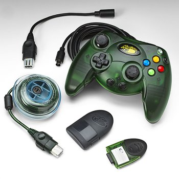 XBox Starter Kit Control Pad, Cable Keeper, & 8MB Memory - 8mb Xbox Memory Card