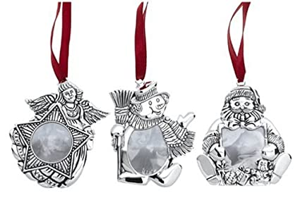 gorham frame christmas ornaments set of 3