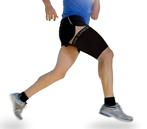 Copper Compression Hamstring GUARANTEED Medium Single product image