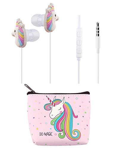 Unicorn Headphones for Kids Teens Girls, TMHH