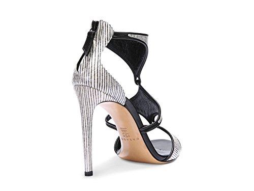 Sandalias de tacones Casadei en cebra impresión cuero - Número de modelo: 8148N123.FH8T500C27 Beige