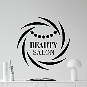 Beauty Salon Wall Decal Stylist Hairdressing Scissors Hairbrush - Custom vinyl wall decals for hair salonvinyl wall decal hair salon stylist hairdresser barber shop