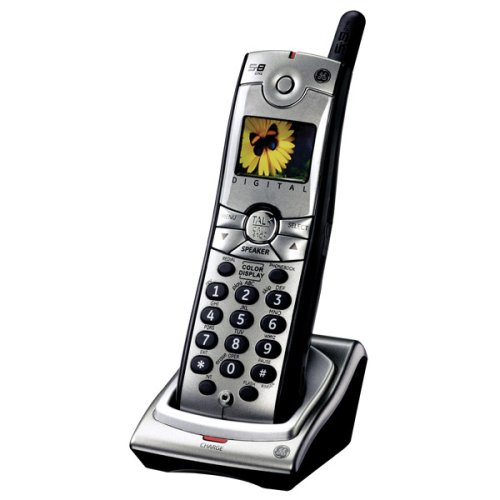 GE Cordless 5.8 GHz Digital 28011EE1 Accessory Handset for 28031, 28041 Series Expandable Phone ()