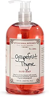 product image for Stonewall Kitchen Grapefruit Thyme Hand Soap, 16.9 Ounce Bottle