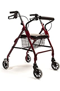 Queraltó Andador Rollator para Ancianos Plegable, Regulable en ...