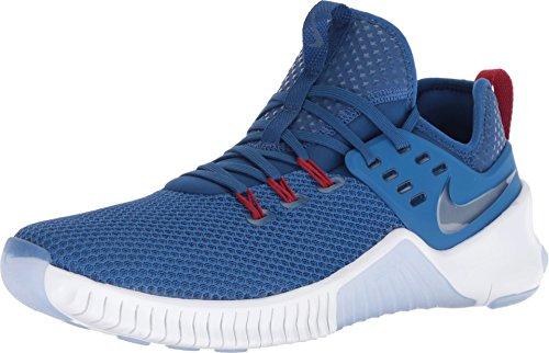 NIKE Men's Free X Metcon Americana Training Shoes (12, Blue/White/Red)