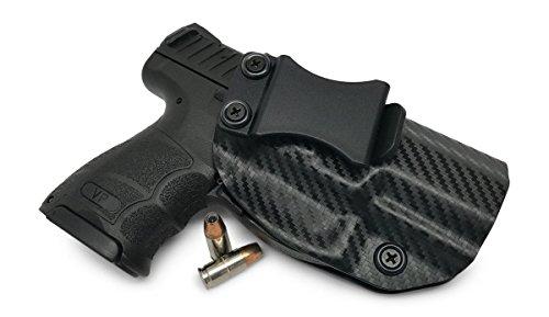 Concealment Express IWB KYDEX Gun Holster: fits Heckler & Koch (H&K) VP9SK - Custom Molded Fit - US Made - Inside Waistband Concealed Carry Holster - Adj. Cant & Retention
