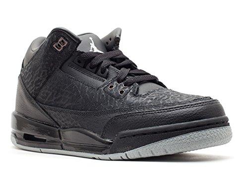 Nike Air Jordan 3 Retro Flip GS Black Limited Edition 315768-001 [US Size 6.5] (Air Jordan 3 Black Cat For Sale)