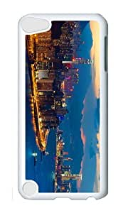 Ipod 5 Case,MOKSHOP Cool megacity hong kong 1 Hard Case Protective Shell Cell Phone Cover For Ipod 5 - PC White by lolosakes by lolosakes