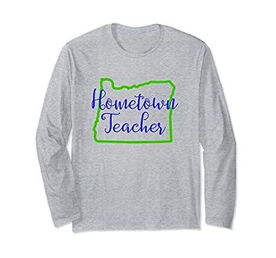 Oregon Teacher T-Shirt Hometown Teacher Tee