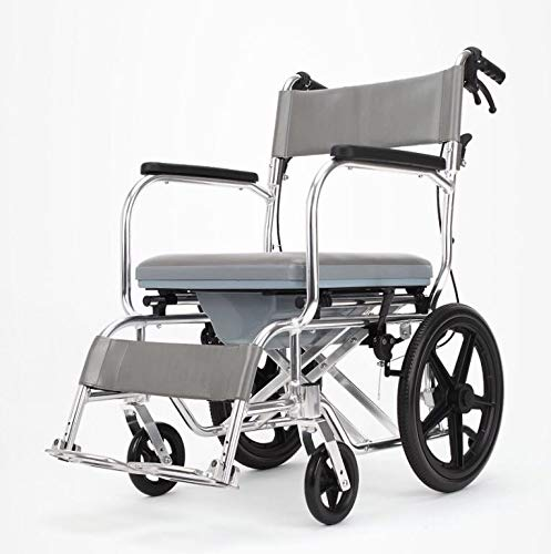 ding Transit Wheelchair,Light and Flexible,seat Width 45cm,Rear Wheel 20.9 Inches ()