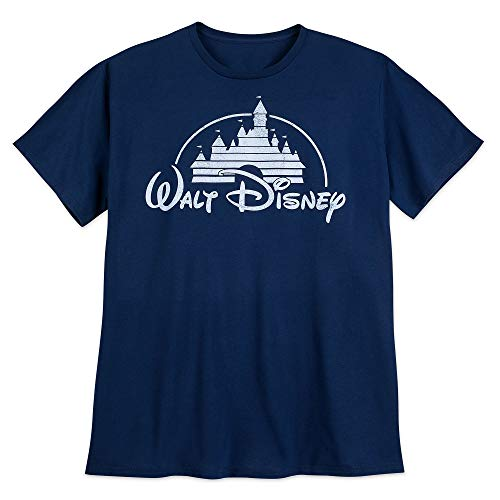 (Disney Walt Logo Tee for Men - Extended Size Size Mens 3XL)