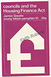 Housing Allowances and Inequality (Young Fabian pamphlet)