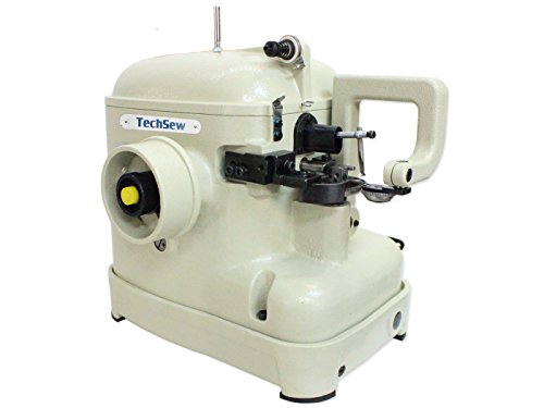TechSew 602 Heavy Duty Industrial Fur Sewing Machine with Assembled Table & Servo Motor by TechSew