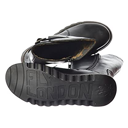 Fly London Women's Mol Warm Wedge Boots 6