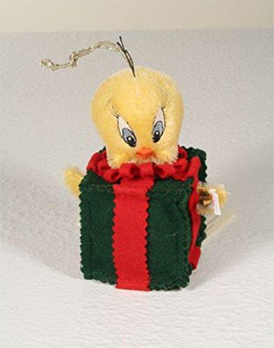 Steiff Tweety Christmas Ornament Mohair 12cm