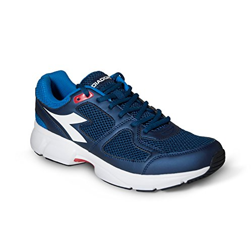 Diadora Men's Shape 8 Competition Running Shoes Navy / White 1CQiI5B