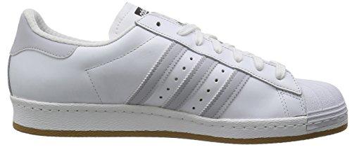 Adidas Originals SUPERSTAR 80s REFLECTIVE Weiss Leder Herren Sneakers Schuhe Neu