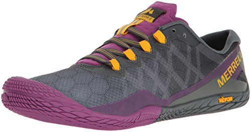 Merrell Women's Vapor Glove 3 Trail Runner, Turbulence, 9.5 M US (Box Wide Women Shoes Toe)