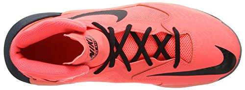 Nike Prime Hype DF - Scarpe Basketball da Uomo Rosa (Neon Pink)