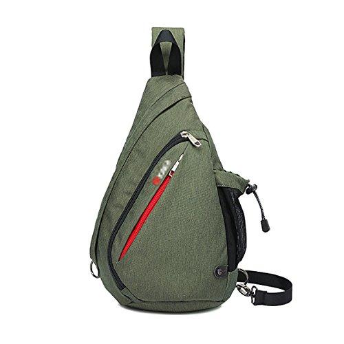 LKDJCWX Bolsa De Mensajero Clásico De Alta Calidad,ArmyGreen-F: Amazon.es: Ropa y accesorios