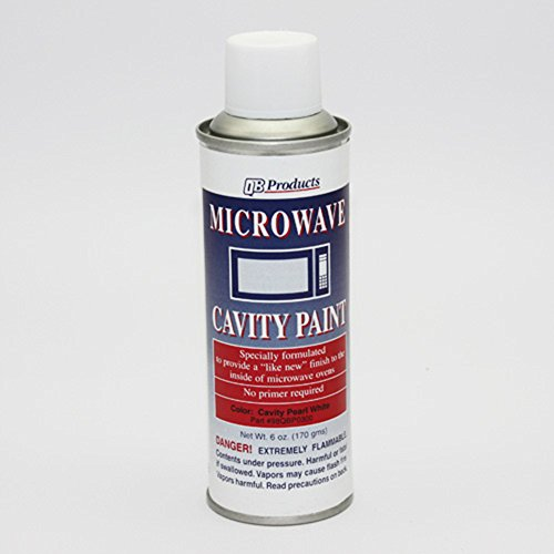 Microwave Cavity Paint White