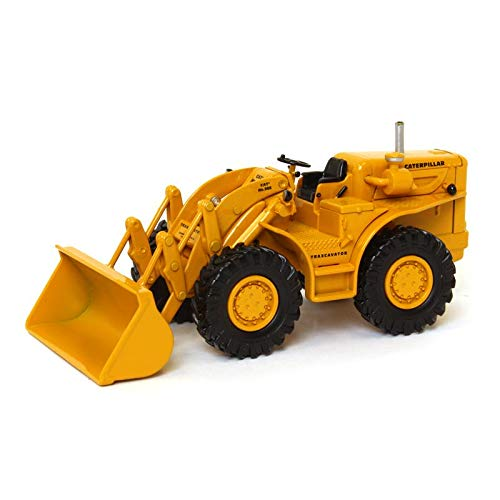 Cat 966A Traxcavator ACMOC Collectible Model Replica (1:50 Scale), Caterpillar Yellow