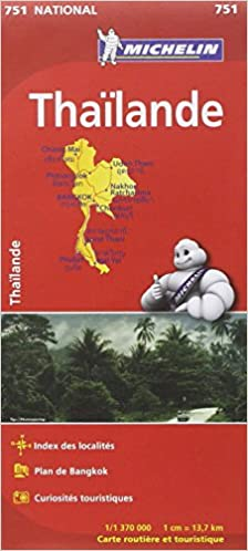 Carte NATIONAL Thaïlande
