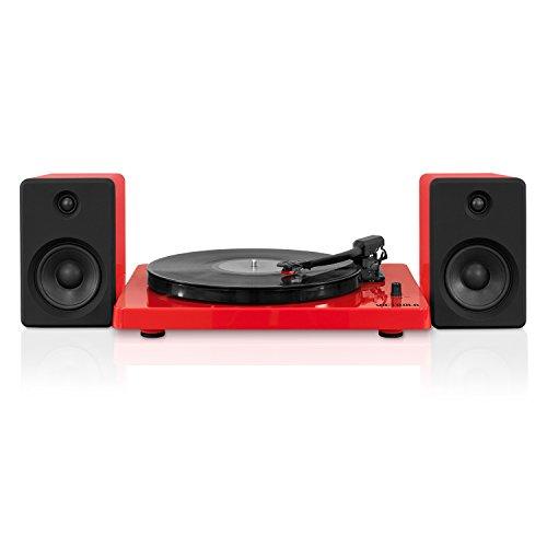 Victrola Modern design 50 watt Record Player with Bluetooth
