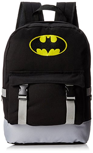 Batman Men s Rucksack Backpack with Distressed Screen Print