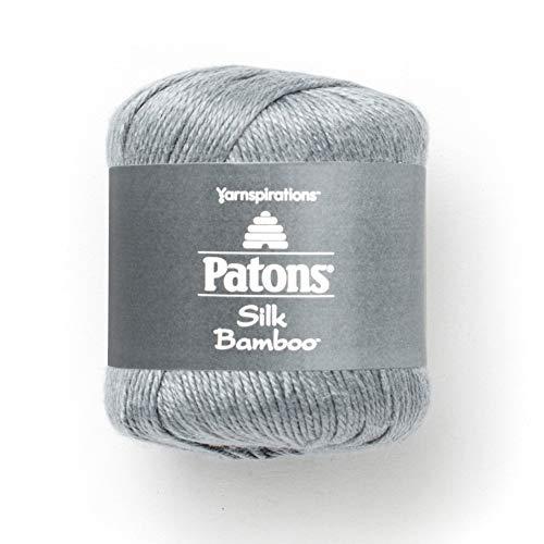 Patons Silk Bamboo Yarn, 2.2 oz, Stone ()