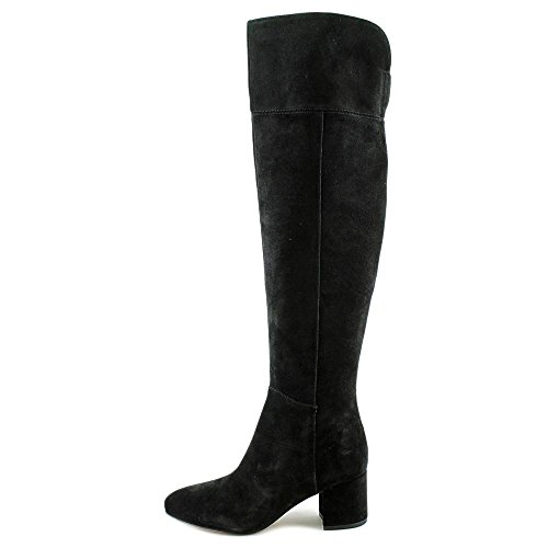 Knee Suede The Franco Sarto Over Womens Boots Kerri Black Solid cq66fR0B4