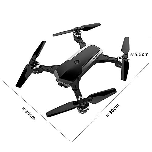 Choosebuy 360 Degree Roll RC Drone with HD Camera, 0.3/2MP Wide Angle Camera FPV 2.4G/One Key Return/WiFi Control/Foldable Quadcopter/Outdoor Toy Gift for Beginners for Adults (A) by Choosebuy (Image #4)