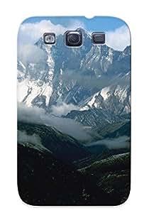 GcIKmej5850vmkDH Premium Mount Everest Back Cover Snap On Case For Galaxy S3
