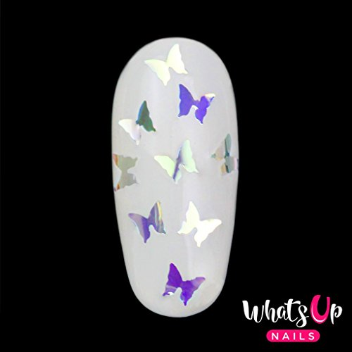 What Up Nails - Butterfly Glitter