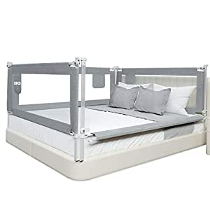 Amazon.com : SURPCOS Bed Rails for Toddlers -New Upgraded ...
