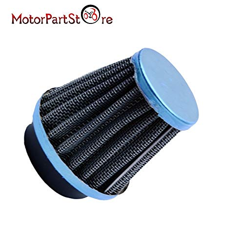 VistorHies -48mm Air Filter Cleaner Mushroom Head for HONDA CB350 CL350 CL450 CB400 CB500T CM40 Motorcycle Dirt Pit Motorbike - D30 Filter Replacement